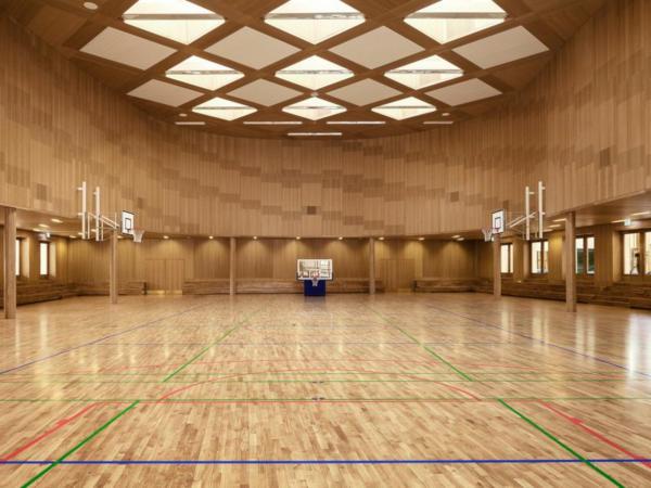 Wood Floor Partners dans la salle de sport