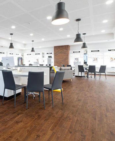 Les surfaces commerciales avec Wood Floor Partners parquets
