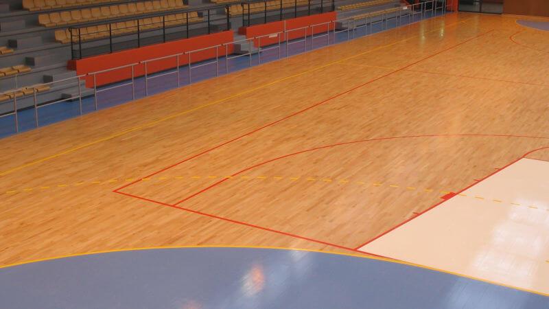 Wood Floor Parquets dans le basket et le handball