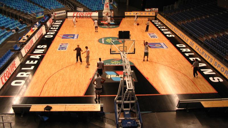 Wood Floor Parquets dans les complexes sportifs les plus prestigieux