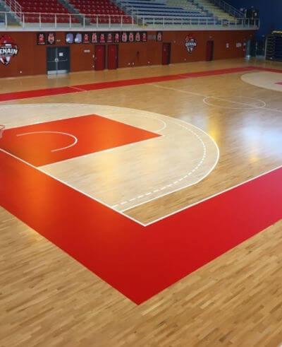 Le sol sportif, Wood floor partners parquets
