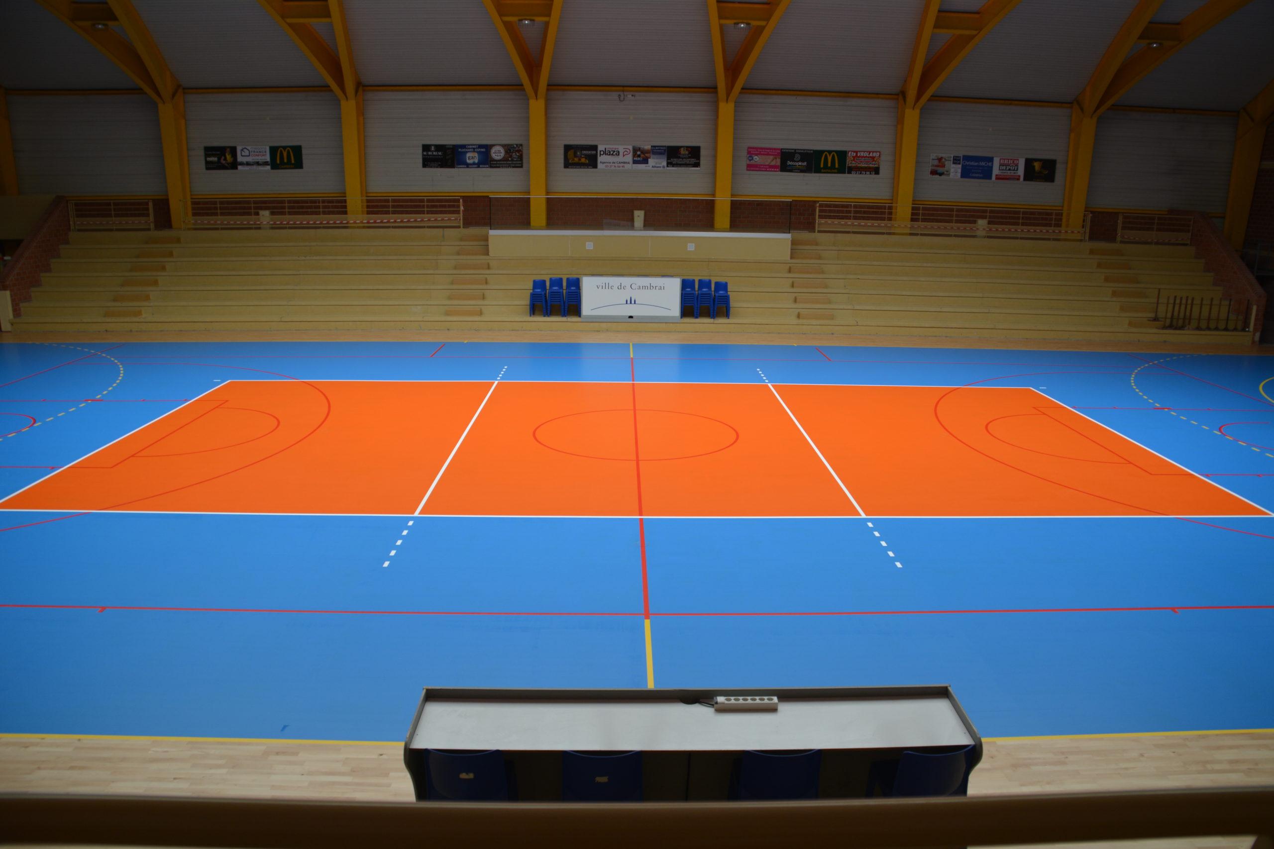 terrain du volley club de Cambrai