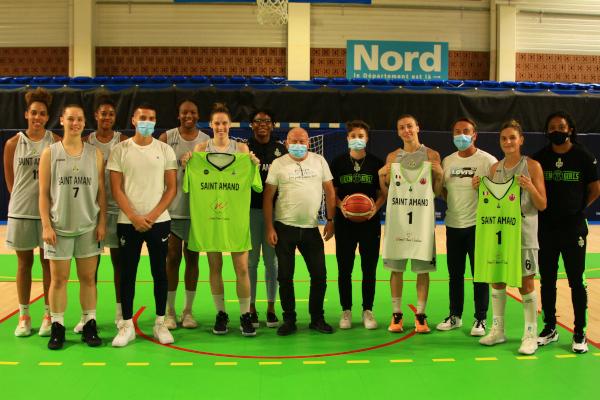WFP sponsor de Saint Amand Hainaut Basket
