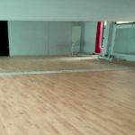 parquet massif salle de danse